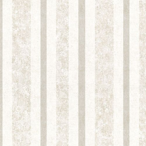 Non-woven wallpaper cream striped Marburg 56115 online kaufen