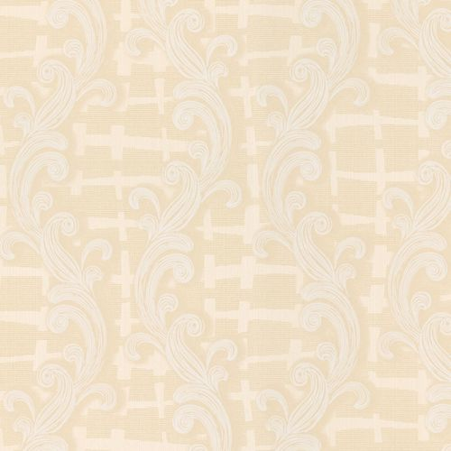Non-woven wallpaper beige ornament Marburg 56103