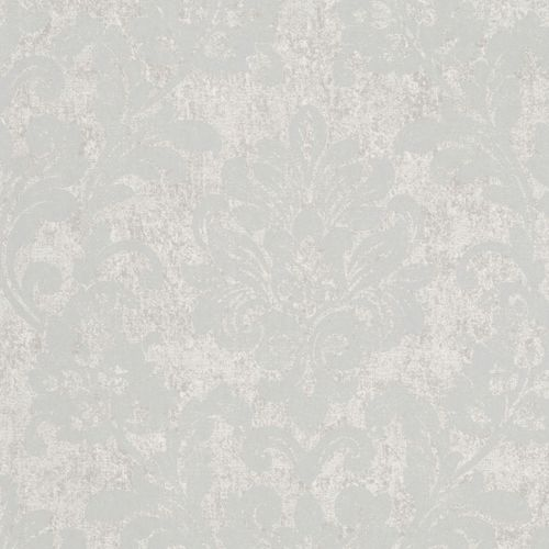 Non-woven wallpaper grey silver ornament Marburg 56153