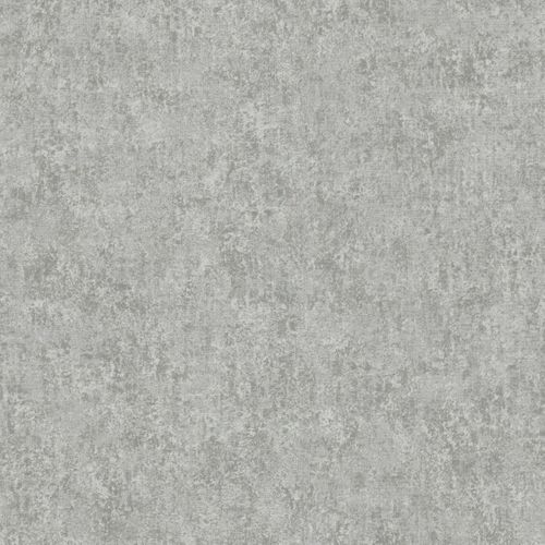 Non-Woven Wallpaper Plain grey silver Metallic 56129