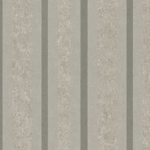 Non-woven wallpaper beige silver striped Marburg 56116 online kaufen