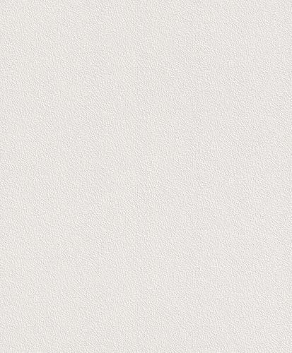 Non-woven wallpaper Rasch plain structure white 475517