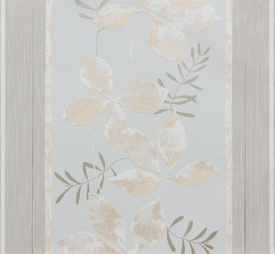 Wallpaper non-woven grey beige floral Marburg 56745