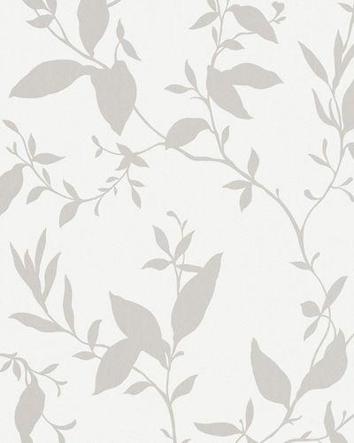 Vliestapete weiß Blumen Marburg 56403 online kaufen