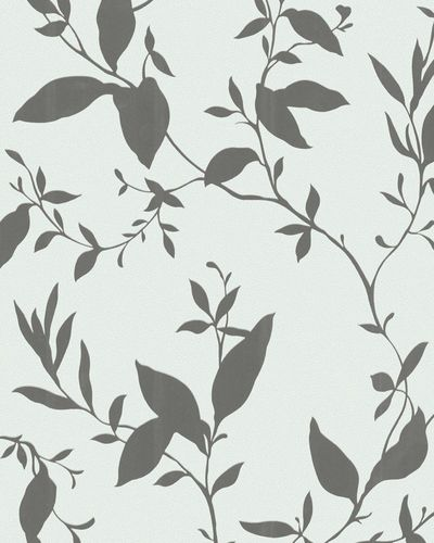 Non-woven wallpaper green floral Marburg 56404