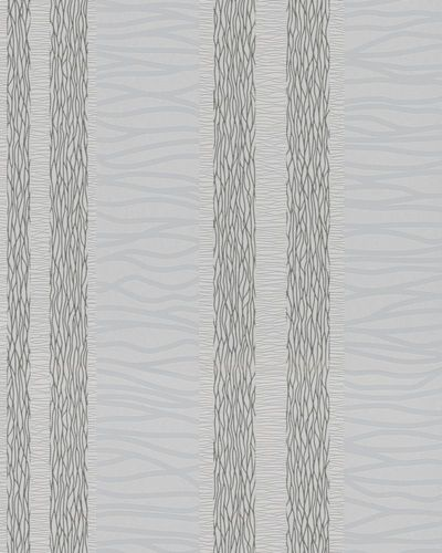 Non-Woven Wallpaper Waves grey silver Metallic 56437 online kaufen