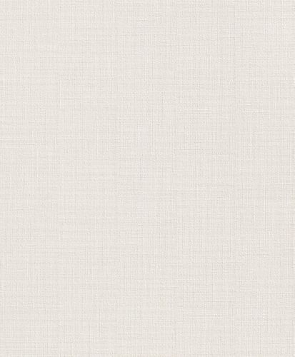 Wallpaper cream uni Naturalia Rasch 442700