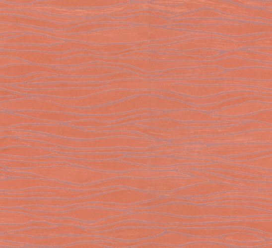 Wallpaper orange stripes Opulence Marburg 56011