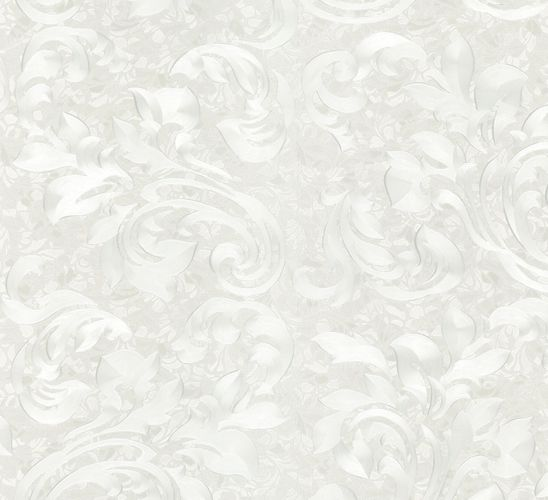 Wallpaper silver flower Opulence Marburg 56032