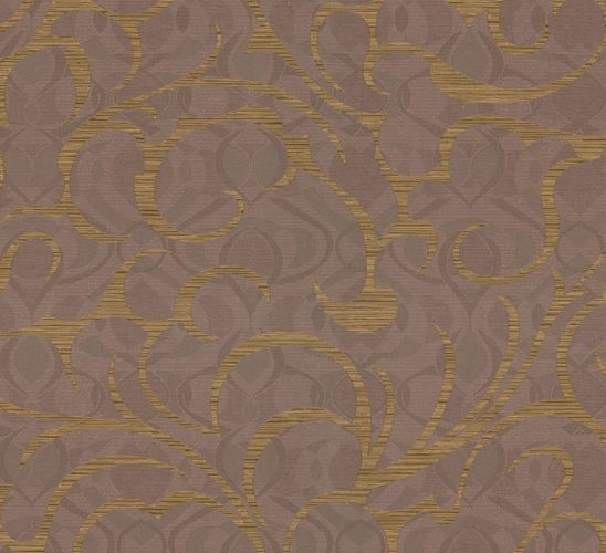 Wallpaper brown gold graphic Opulence Marburg 56026