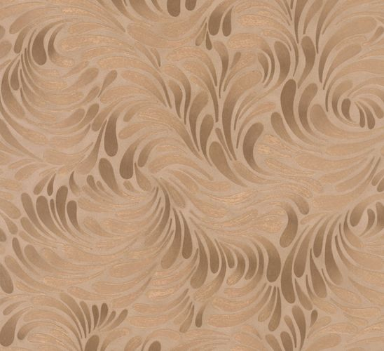 Wallpaper gold copper graphic Opulence Marburg 56008 online kaufen