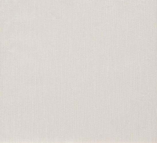 Non-woven wallpaper white cream striped Marburg 56502