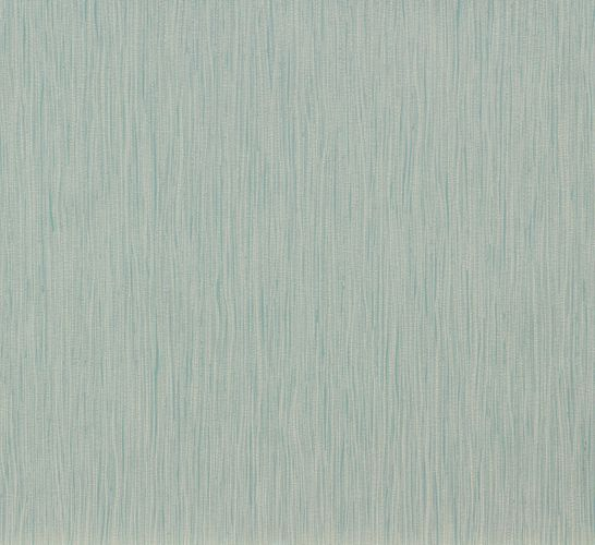 Non-Woven Wallpaper Stroke turquoise blue dark grey 56531