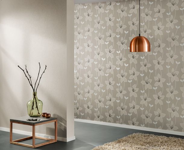 Vliestapete beige Uni AS Creation 30098-2 online kaufen
