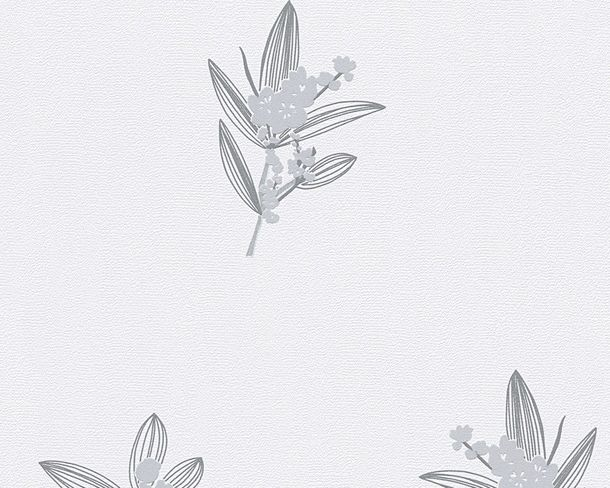 Wallpaper white grey floral AS Creation 30138-4 online kaufen