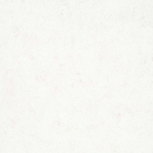 Non-Woven Wallpaper Plain Plaster white Metallic 56842