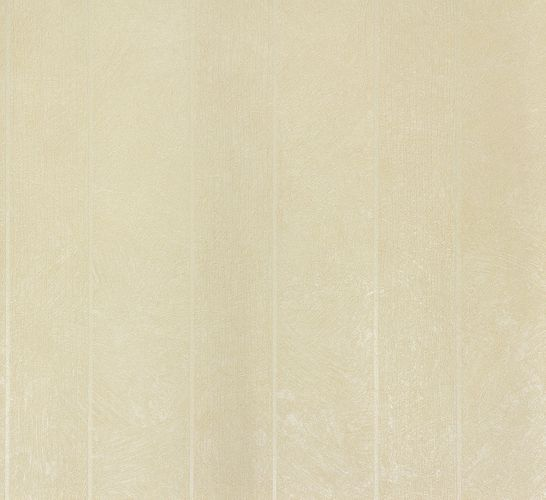 Non-Woven Wallpaper Plaster Stripes cream Glitter 56846