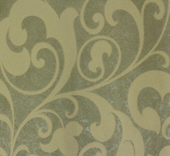 Non-woven wallpaper cream green flower Marburg 56807 online kaufen