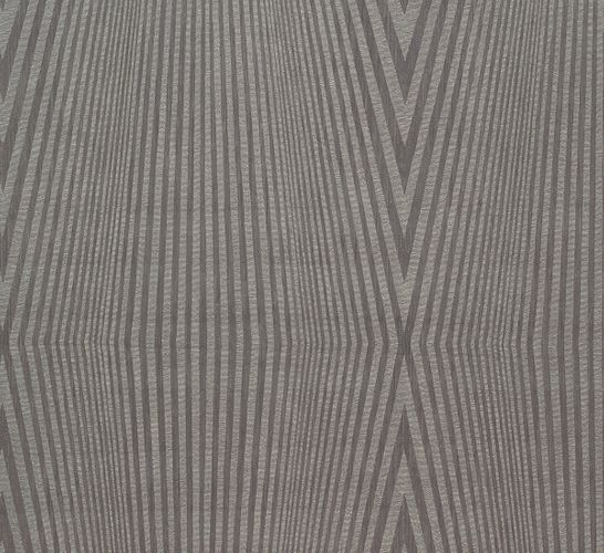 Wallpaper grey silver graphic Marburg 56219