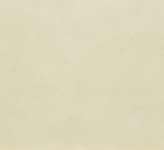 Wallpaper cream uni Marburg 56218