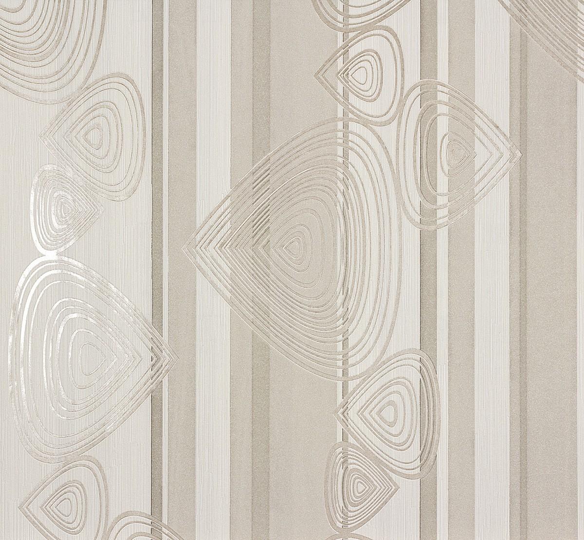 vliestapete wei grau grafisch marburg 56910. Black Bedroom Furniture Sets. Home Design Ideas
