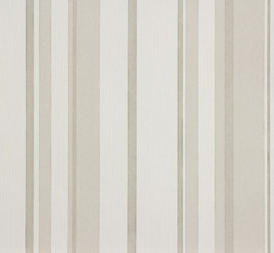 Wallpaper white grey striped Marburg 56921 online kaufen