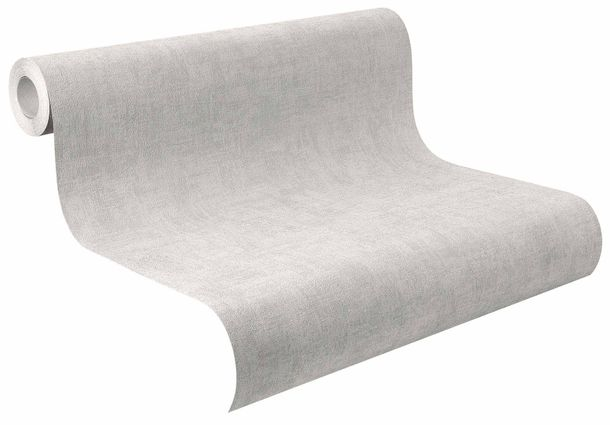 Non-Woven Wallpaper Plain Texture Design grey 489859 online kaufen