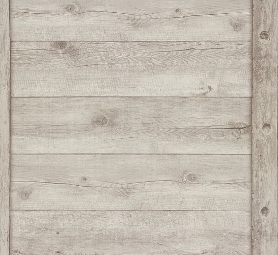Wallpaper wood board vintage Rasch grey 861402 online kaufen