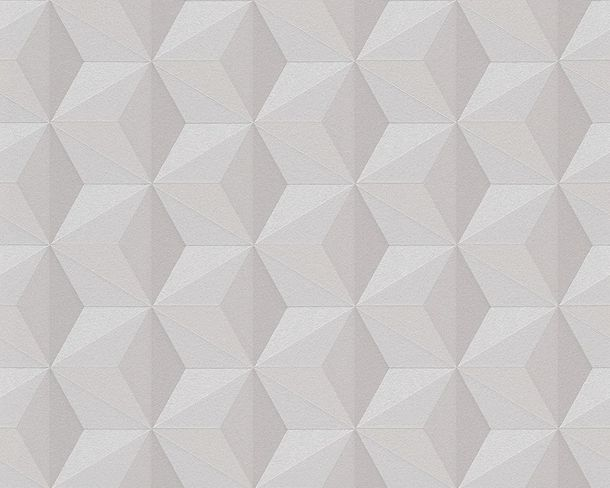 Wallpaper grey graphic AS Creation 96255-1