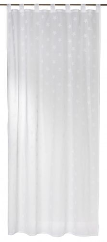 Loop curtain white semi-transparent 140x255cm 197476 online kaufen