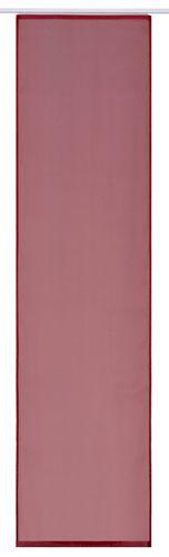Flächenvorhang rot Uni transparent 60x245 cm 197193 online kaufen