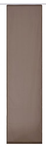 Panel curtain brown uni transparent 60x245 cm 197209 online kaufen