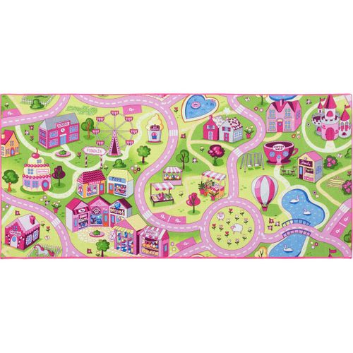 Carpet rose green girls Sweet Town in diff. sizes online kaufen