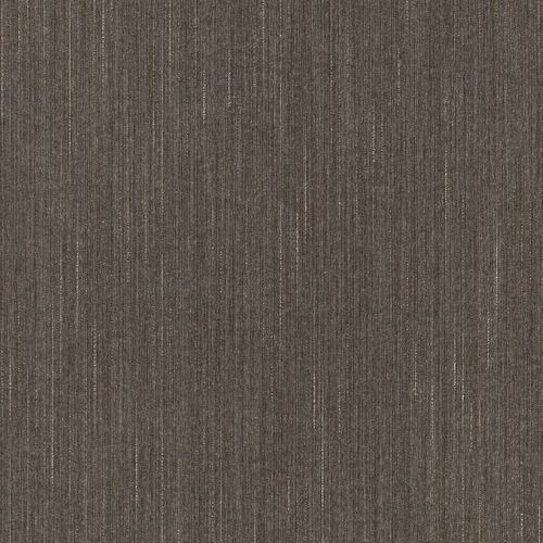 Textile Wallpaper Stripes Plain brown Gloss 073194