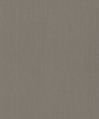 Textile Wallpaper Rasch Textil Sky plain brown grey 077123