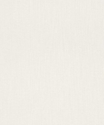 Textile Wallpaper Rasch Textil Sky plain white 077109