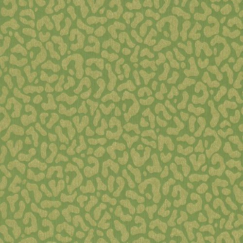 Wallpaper green gold graphic Rasch Textil 077369