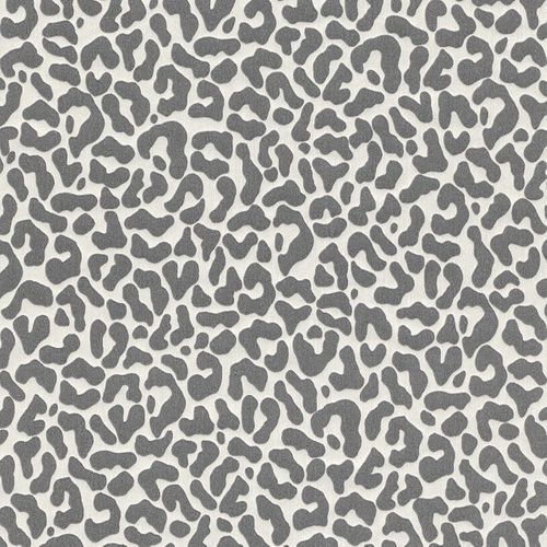 Wallpaper anthracite graphic Rasch Textil 077390