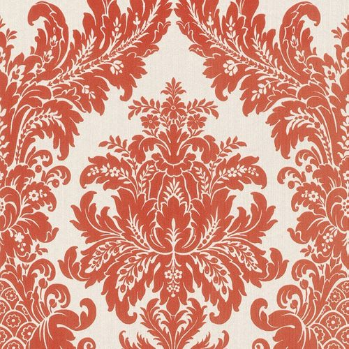 Wallpaper white orange nature Rasch Textil 077260 online kaufen