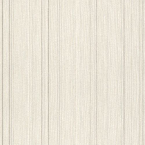 Wallpaper cream beige stripes Rasch Textil 077505