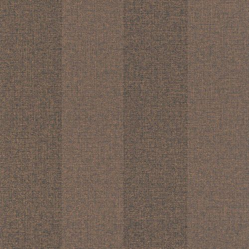 Wallpaper Rasch Textil striped copper brown 226545