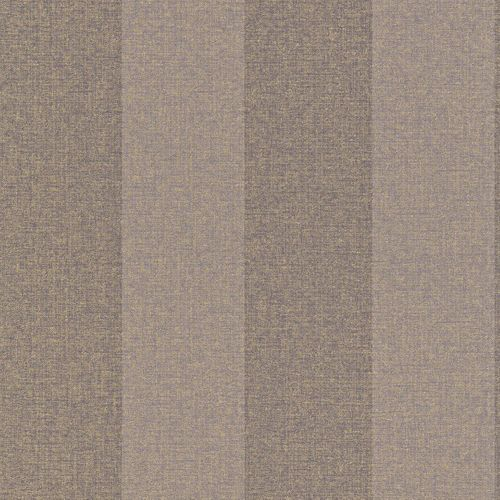Wallpaper purple gold stripes Rasch Textil 226569