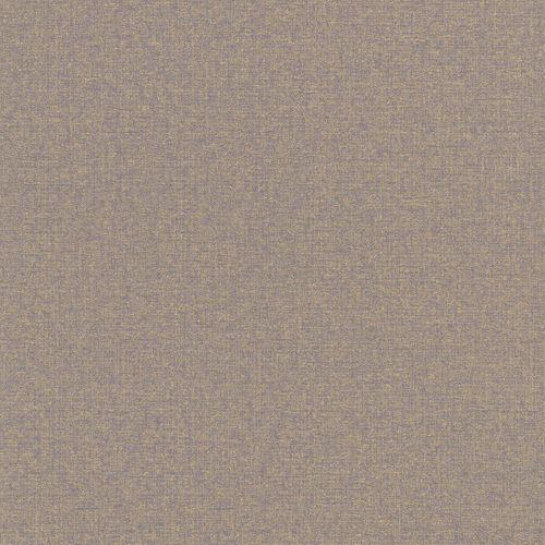 Wallpaper purple gold uni Rasch Textil 226606