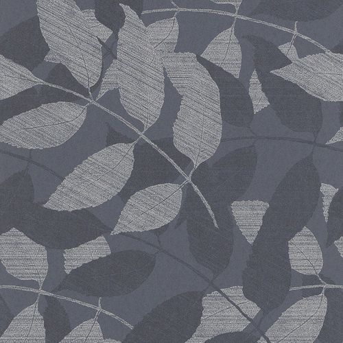 Wallpaper blue silver nature Rasch Textil 226705