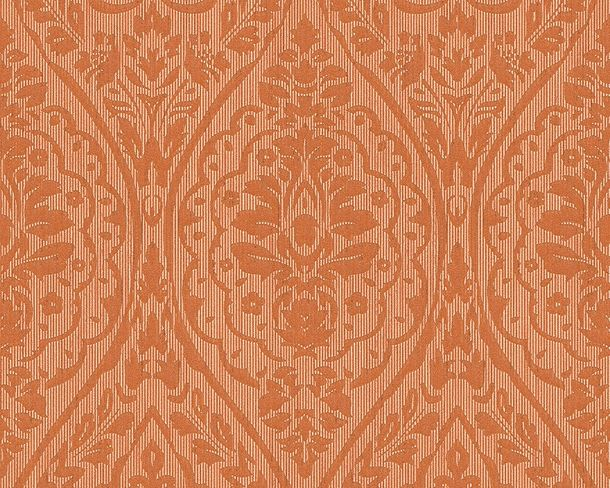 Wallpaper orange ornament Tessuto 96195-2 online kaufen