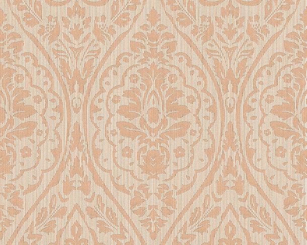 Wallpaper beige cream ornament Tessuto 96195-3