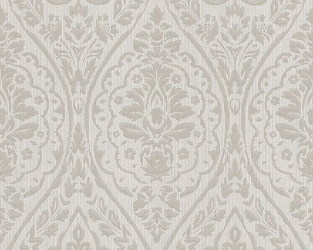 Wallpaper grey white ornament Tessuto 96195-5 online kaufen