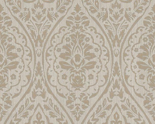 Wallpaper beige grey ornament Tessuto 96195-6 online kaufen