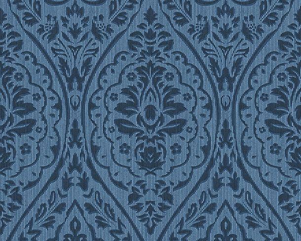 Vliestapete blau Barock Tessuto 96195-8