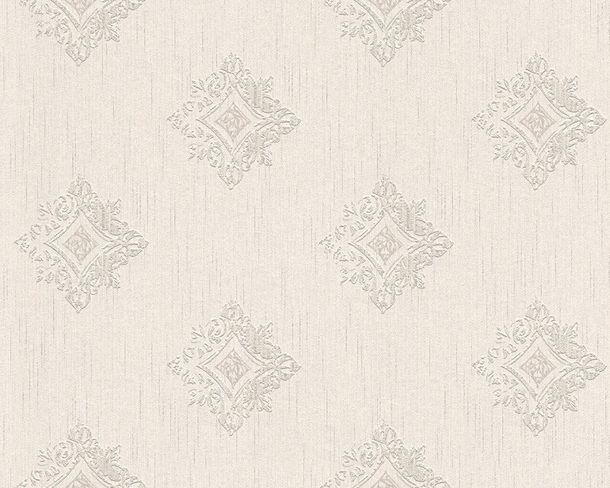 Wallpaper white grey ornament Tessuto 96200-2 online kaufen